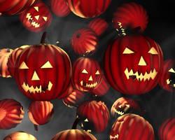 Pumpkins 2 by Trablex