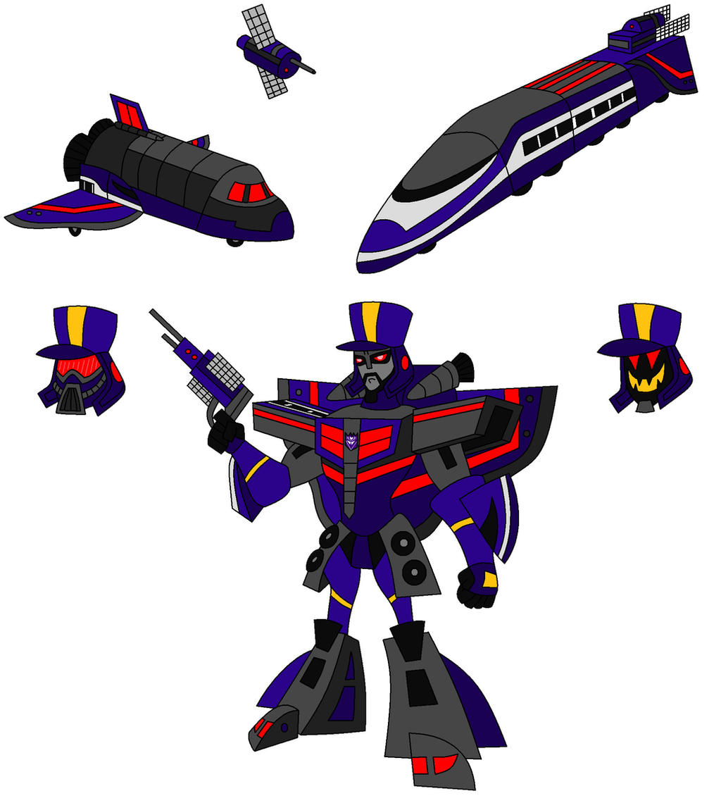 Animated Astrotrain by AleximusPrime on DeviantArt