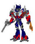 TFA Movieverse Optimus Prime