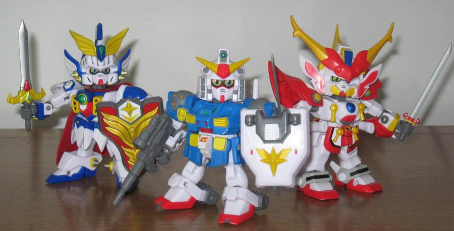 Superior Defender Gundam Force by AleximusPrime
