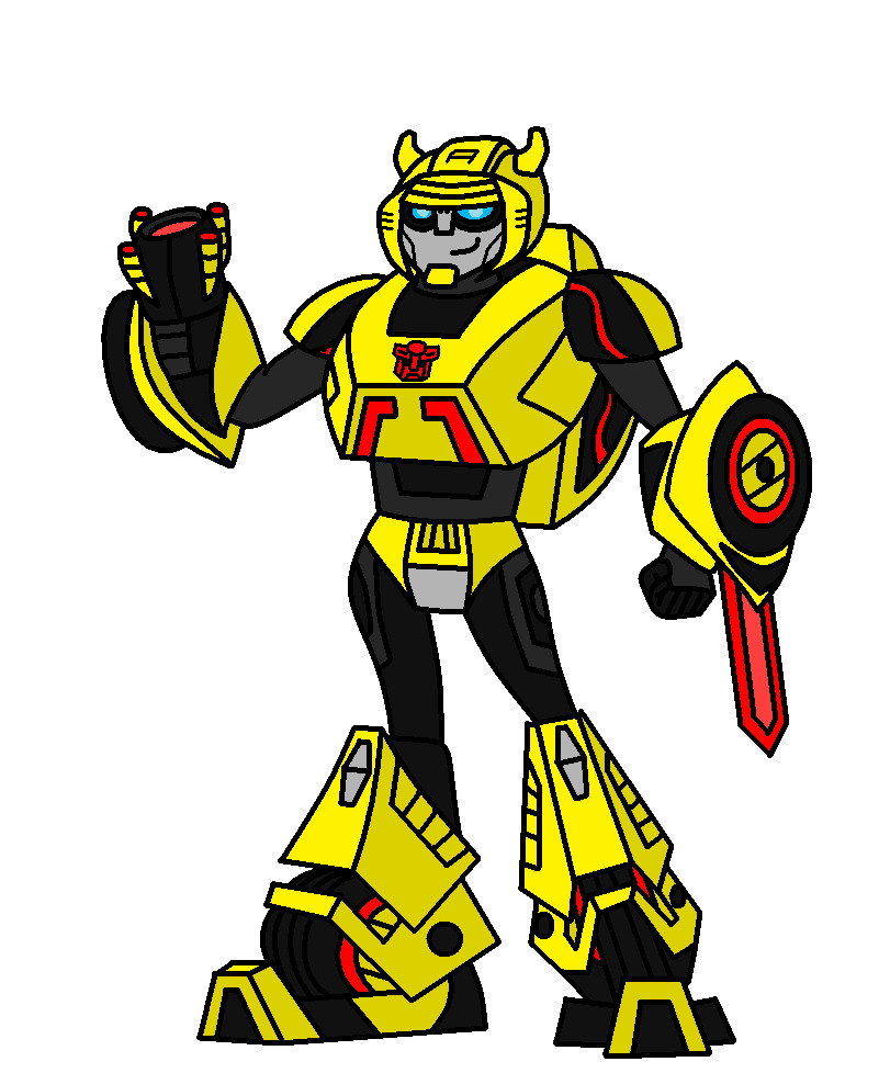 how to draw bumblebee from transformers prime