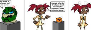 Annoying Bulkhead and Sari by AleximusPrime