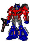 Animated WfC Optimus Prime by AleximusPrime