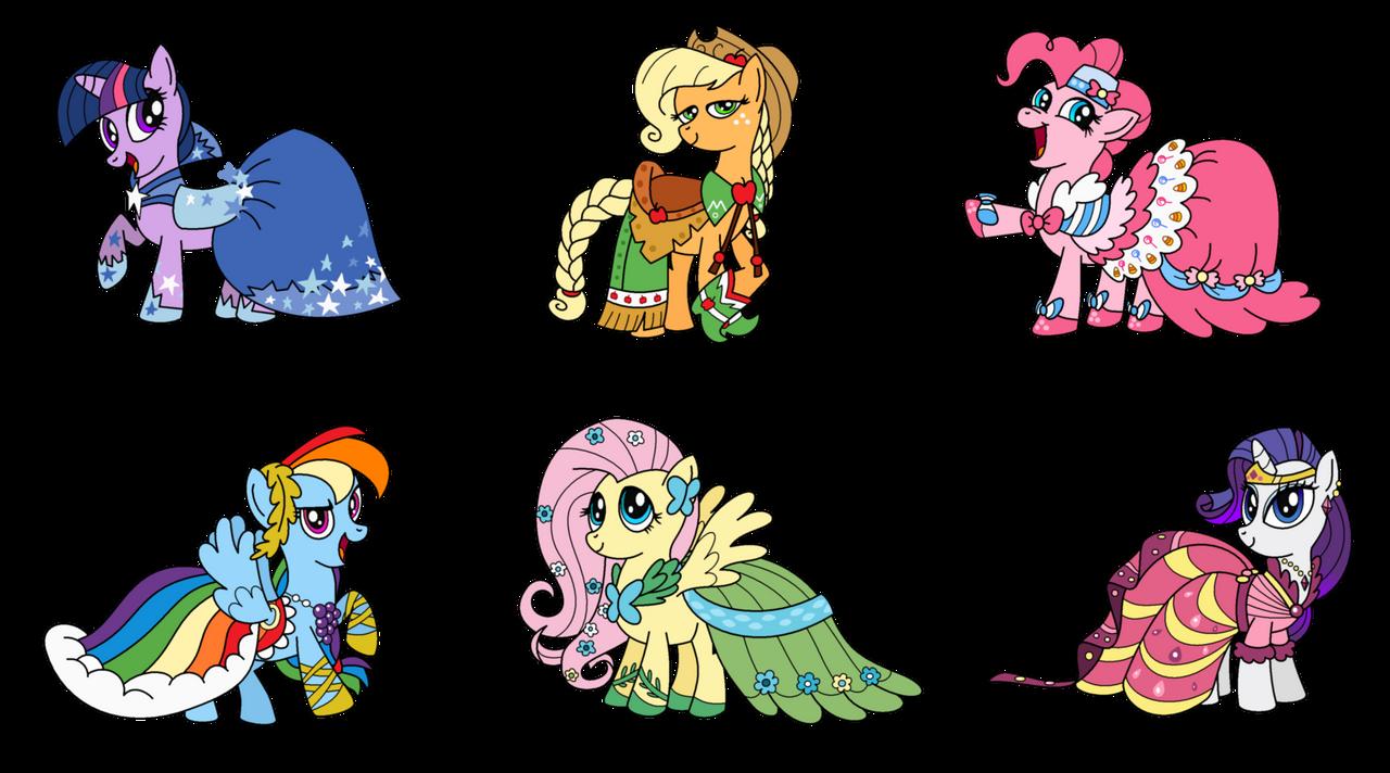 Ponies Gala Dresses By Aleximusprime Deviantart Fondos De Pantalla