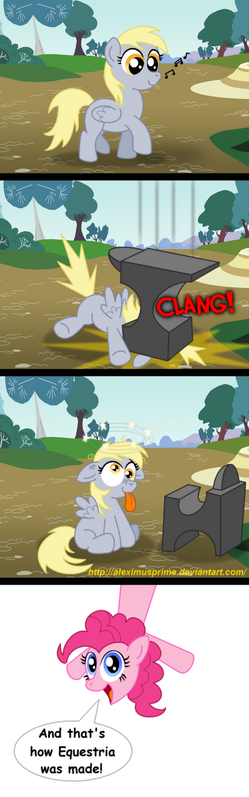 The Origin of Derpy Hooves by AleximusPrime
