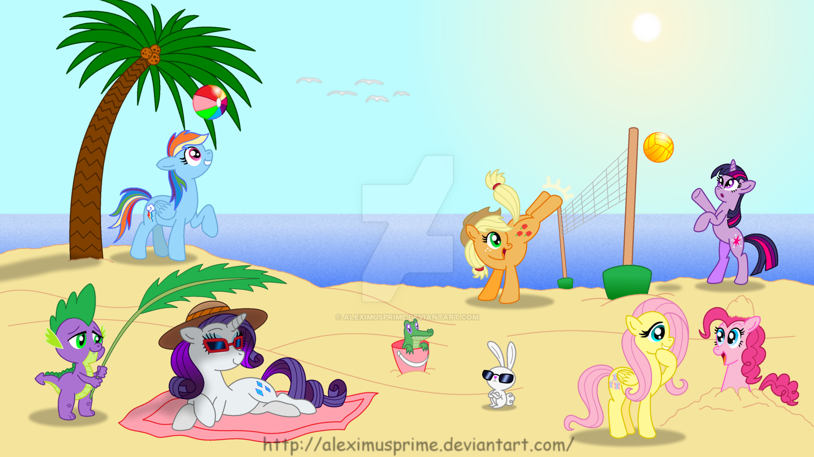 ponies_at_the_beach_by_aleximusprime-d47