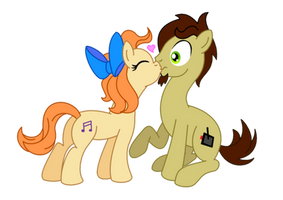 A Sweet Little Kiss by AleximusPrime