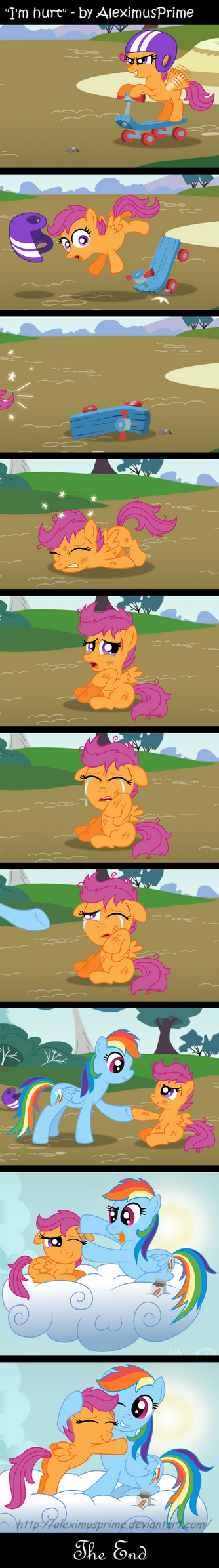 I'm Hurt by AleximusPrime