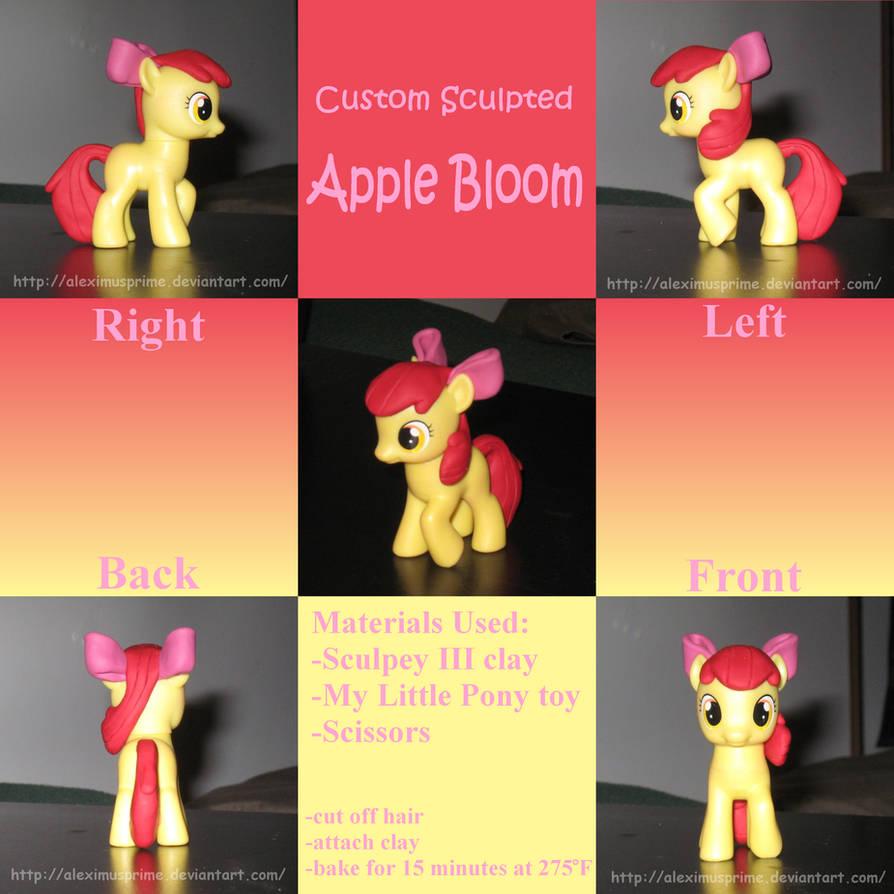 Custom Apple Bloom by AleximusPrime on DeviantArt