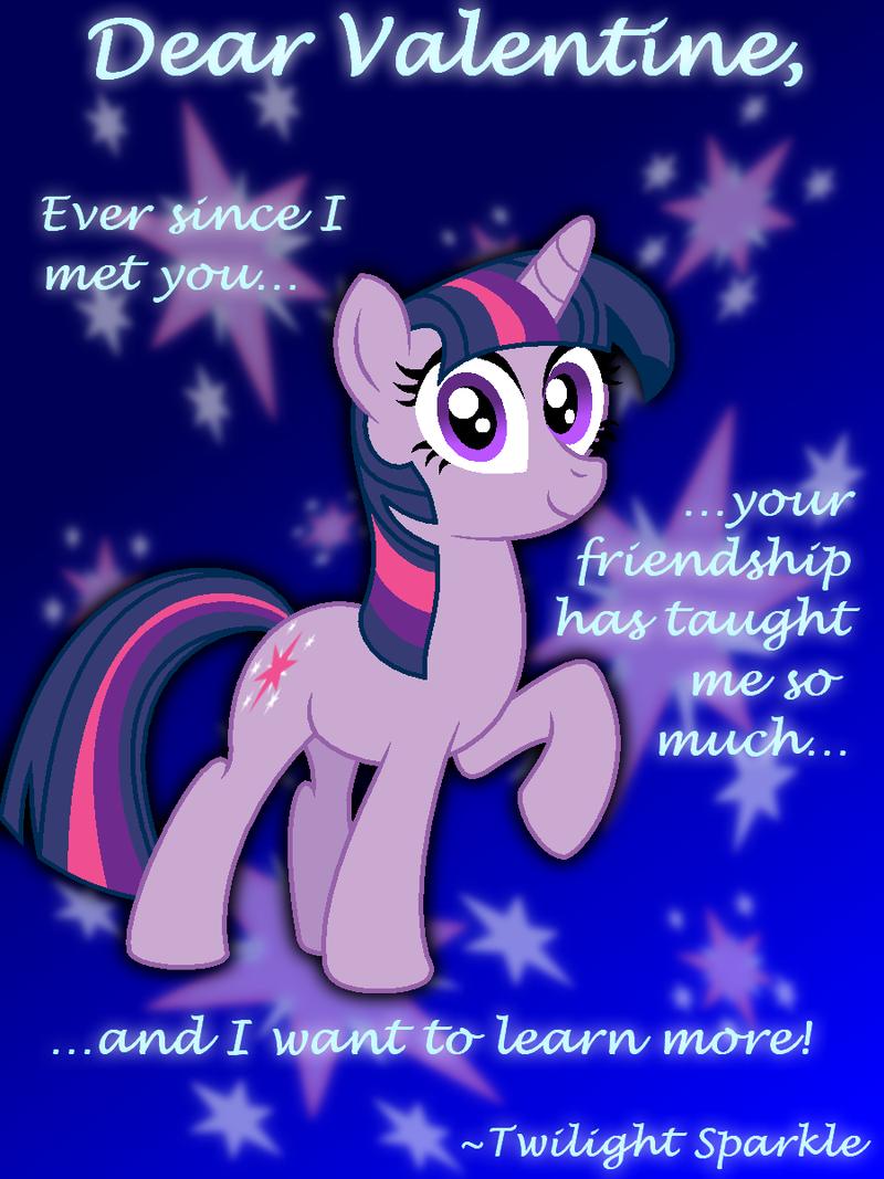 Twilight Sparkle Valentines Day Card by AleximusPrime on DeviantArt