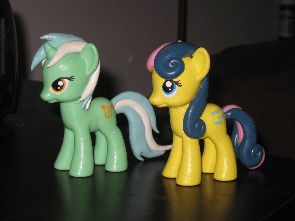 Custom Lyra and Bon-Bon by AleximusPrime
