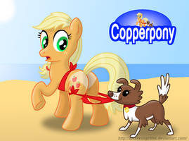Coppertone Applejack by AleximusPrime
