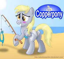 Coppertone Derpy by AleximusPrime