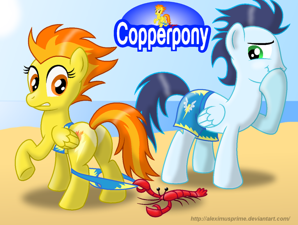 Coppertone Spitfire by AleximusPrime