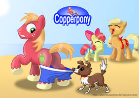 Coppertone Big Macintosh by AleximusPrime