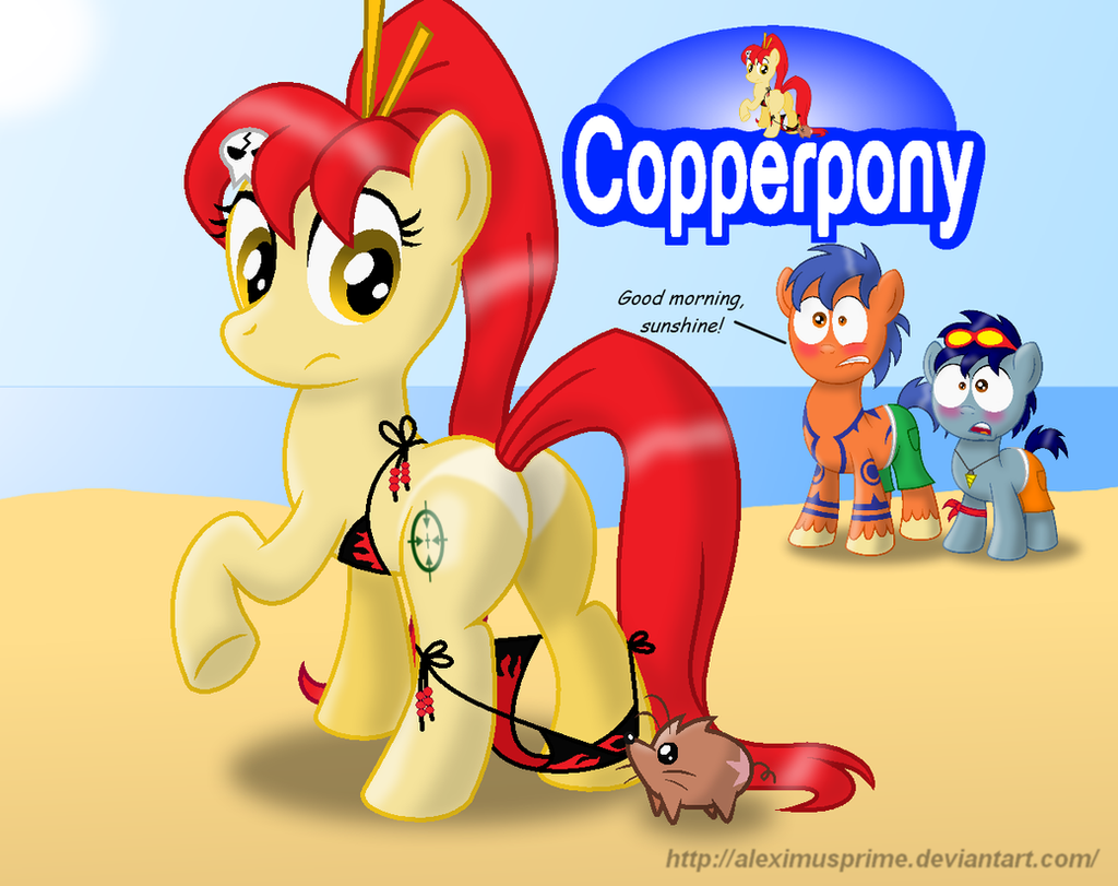 Coppertone Yoko by AleximusPrime