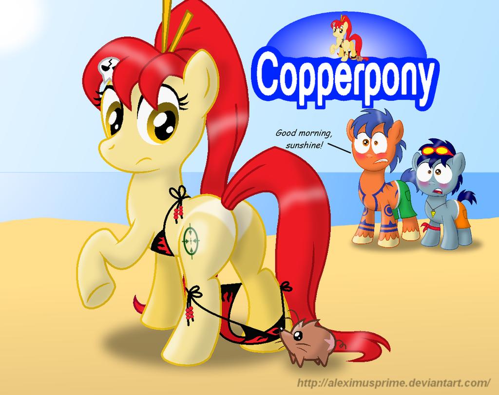 Coppertone Yoko by AleximusPrime