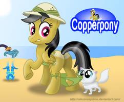 Coppertone Daring Do by AleximusPrime