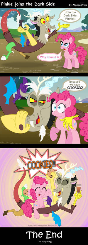Pinkie joins the Dark Side