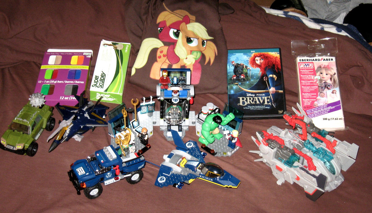Christmas 2012 Haul by AleximusPrime