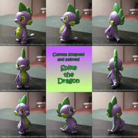 Custom Spike the Dragon by AleximusPrime