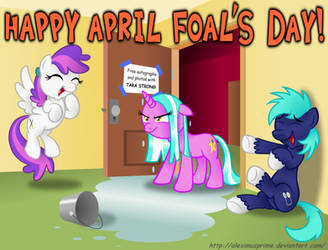 Entry for BronyCon's April Foal's Day contest by AleximusPrime