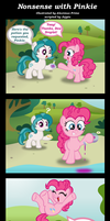 Commission:  Nonsense with Pinkie by AleximusPrime
