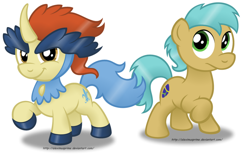 Commission:  Keldeo and Cobalt Lazuli by AleximusPrime
