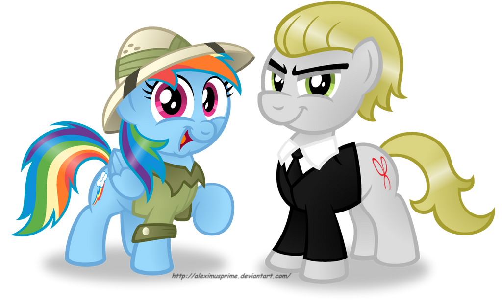Commission: Halloween Dashie and Dreamer by AleximusPrime
