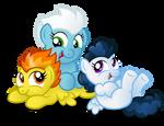 Commission:  Wonder-cuties