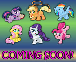 Preview of Mane Six prints by AleximusPrime