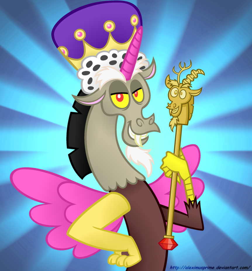 Discord is Best Princess by AleximusPrime