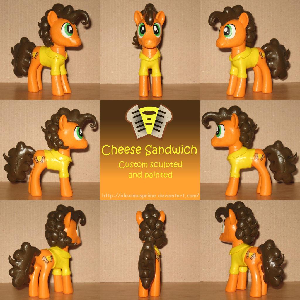 Custom Cheese Sandwich by AleximusPrime