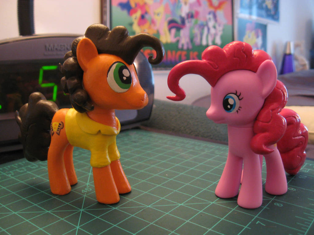 Cheese and Pinkie customs by AleximusPrime