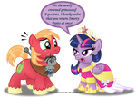 Commission:  Princess Twilight's First Royal Order
