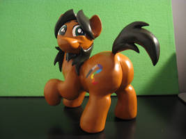 Alex the Chubby Pony sculpture COMPLETE! by AleximusPrime