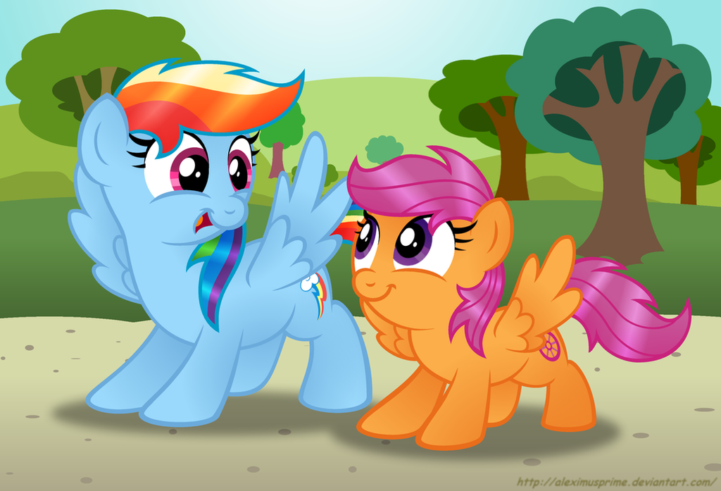 Commision:  You ready, Squirt? by AleximusPrime