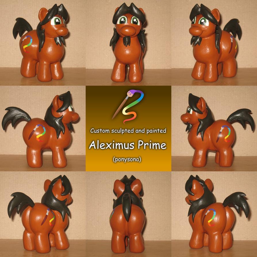 Alex the Chubby Pony custom 2.0 (commission) by AleximusPrime