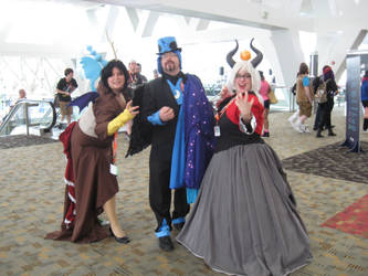 MLP Villains at BronyCon by AleximusPrime