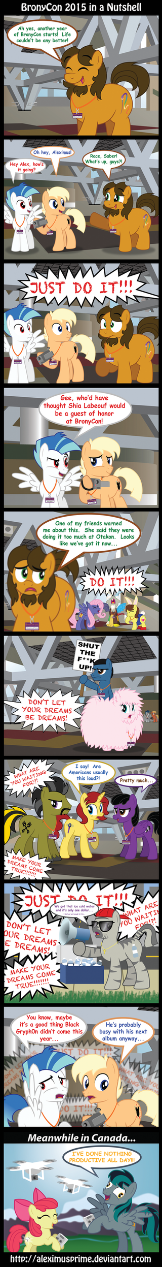 BronyCon 2015 in a Nutshell by AleximusPrime