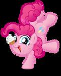 Pinkie Pie button design