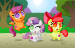 Chibi Ponies:  Cutie Mark Crusaders