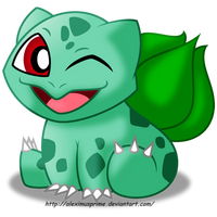 Bulbasaur by AleximusPrime