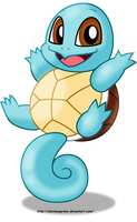 Squirtle by AleximusPrime