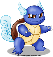 Wartortle by AleximusPrime
