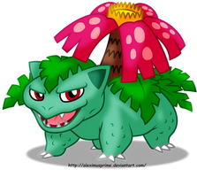Venusaur by AleximusPrime