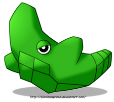 Metapod by AleximusPrime