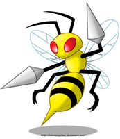 Beedrill by AleximusPrime