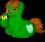 Commission:  Mmmm, Apples!