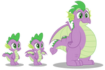 Grownup Spike reference vector